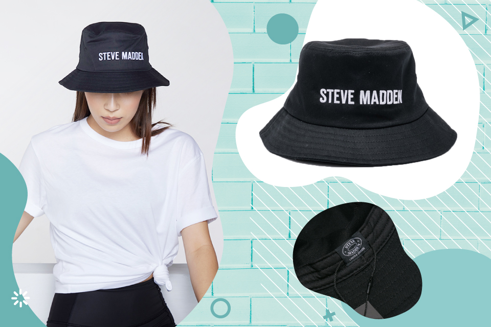 LOGO漁夫帽 帽圍52 x 帽沿88 x 帽高9.5 x 帽沿6公分